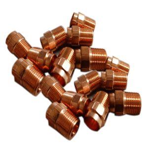 copper male adapter