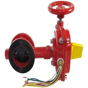DDC Coolmakers and Powerbuilders Corp Butterfly Valve with Tamper Switch